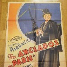 Cine: POSTERS DE PELICULA ANTIGUAS. LOTE ENTERO O POR SEPARADO.. Lote 221959068