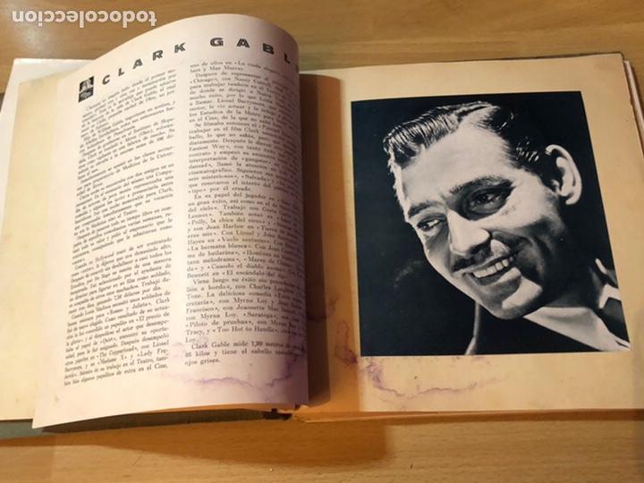 Cine: Radiocinema album de estrellas.clark gable errol Flynn carole lombard Estrellita castro.emi Jannings - Foto 5 - 221973358