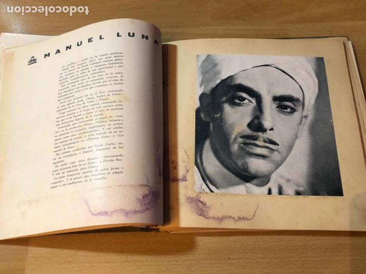 Cine: Radiocinema album de estrellas.clark gable errol Flynn carole lombard Estrellita castro.emi Jannings - Foto 7 - 221973358