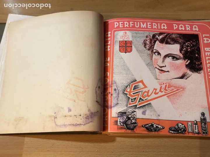 Cine: Radiocinema album de estrellas.clark gable errol Flynn carole lombard Estrellita castro.emi Jannings - Foto 8 - 221973358