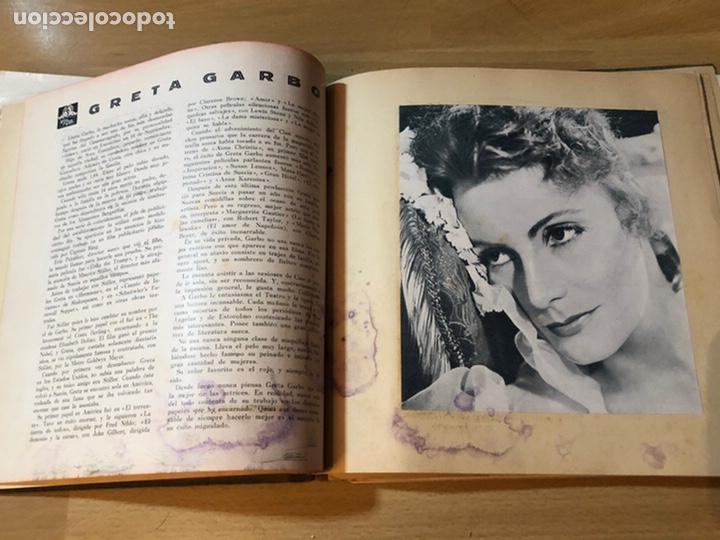 Cine: Radiocinema album de estrellas.clark gable errol Flynn carole lombard Estrellita castro.emi Jannings - Foto 9 - 221973358