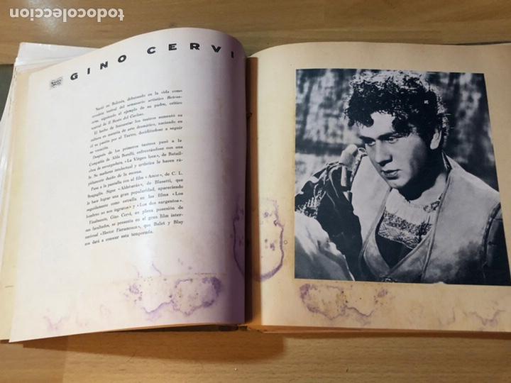 Cine: Radiocinema album de estrellas.clark gable errol Flynn carole lombard Estrellita castro.emi Jannings - Foto 10 - 221973358
