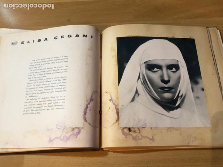 Cine: Radiocinema album de estrellas.clark gable errol Flynn carole lombard Estrellita castro.emi Jannings - Foto 11 - 221973358