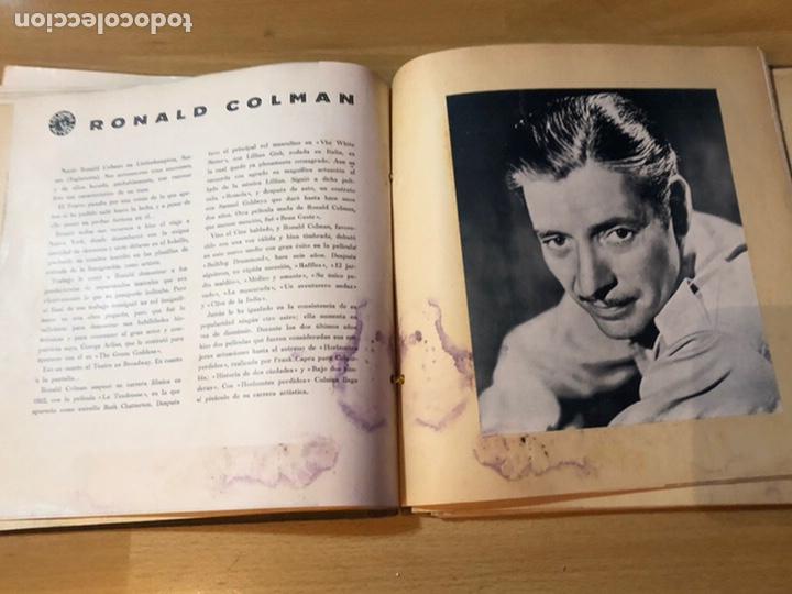 Cine: Radiocinema album de estrellas.clark gable errol Flynn carole lombard Estrellita castro.emi Jannings - Foto 13 - 221973358