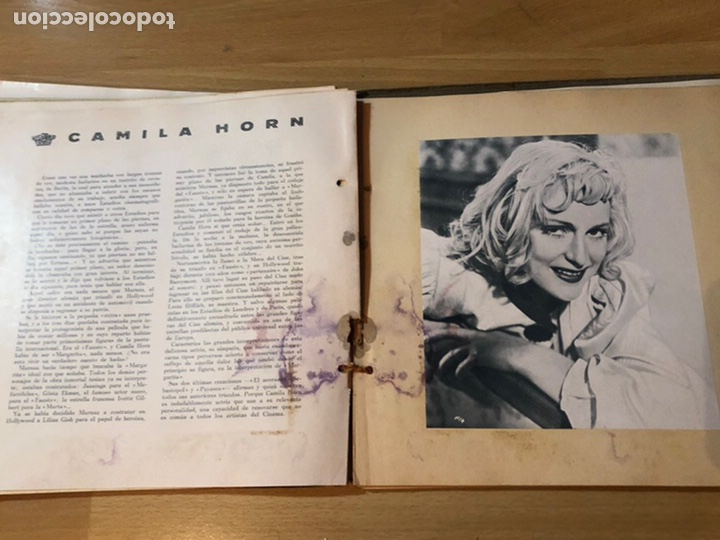 Cine: Radiocinema album de estrellas.clark gable errol Flynn carole lombard Estrellita castro.emi Jannings - Foto 21 - 221973358
