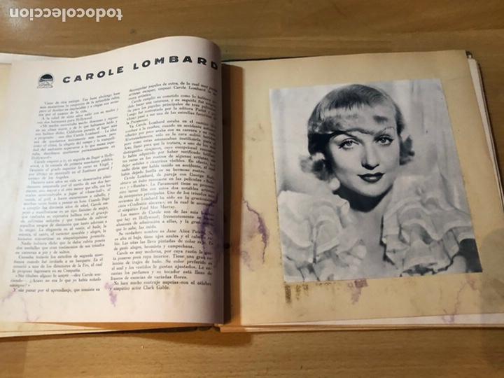 Cine: Radiocinema album de estrellas.clark gable errol Flynn carole lombard Estrellita castro.emi Jannings - Foto 25 - 221973358
