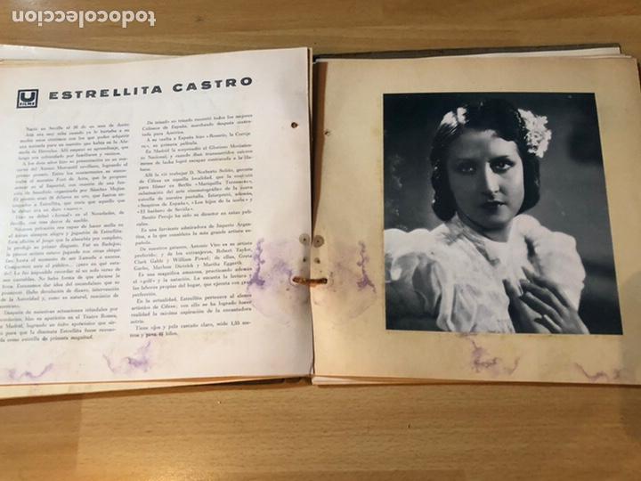 Cine: Radiocinema album de estrellas.clark gable errol Flynn carole lombard Estrellita castro.emi Jannings - Foto 27 - 221973358