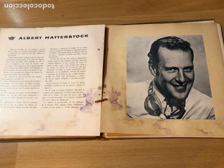 Cine: Radiocinema album de estrellas.clark gable errol Flynn carole lombard Estrellita castro.emi Jannings - Foto 28 - 221973358