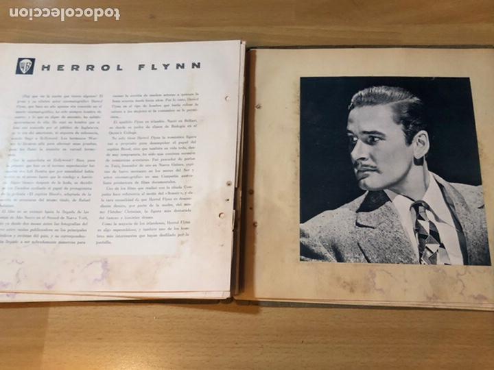 Cine: Radiocinema album de estrellas.clark gable errol Flynn carole lombard Estrellita castro.emi Jannings - Foto 31 - 221973358