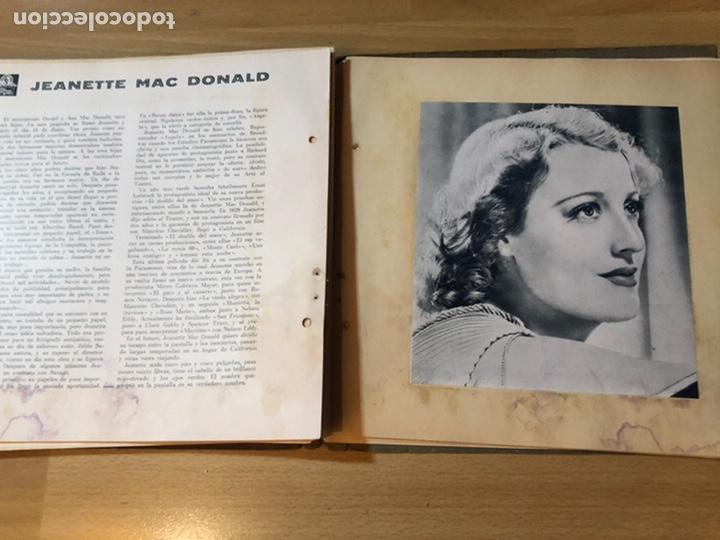 Cine: Radiocinema album de estrellas.clark gable errol Flynn carole lombard Estrellita castro.emi Jannings - Foto 32 - 221973358