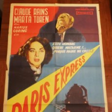 Cine: POSTERS DE PELICULA ANTIGUAS. LOTE ENTERO O POR SEPARADO.. Lote 222067436