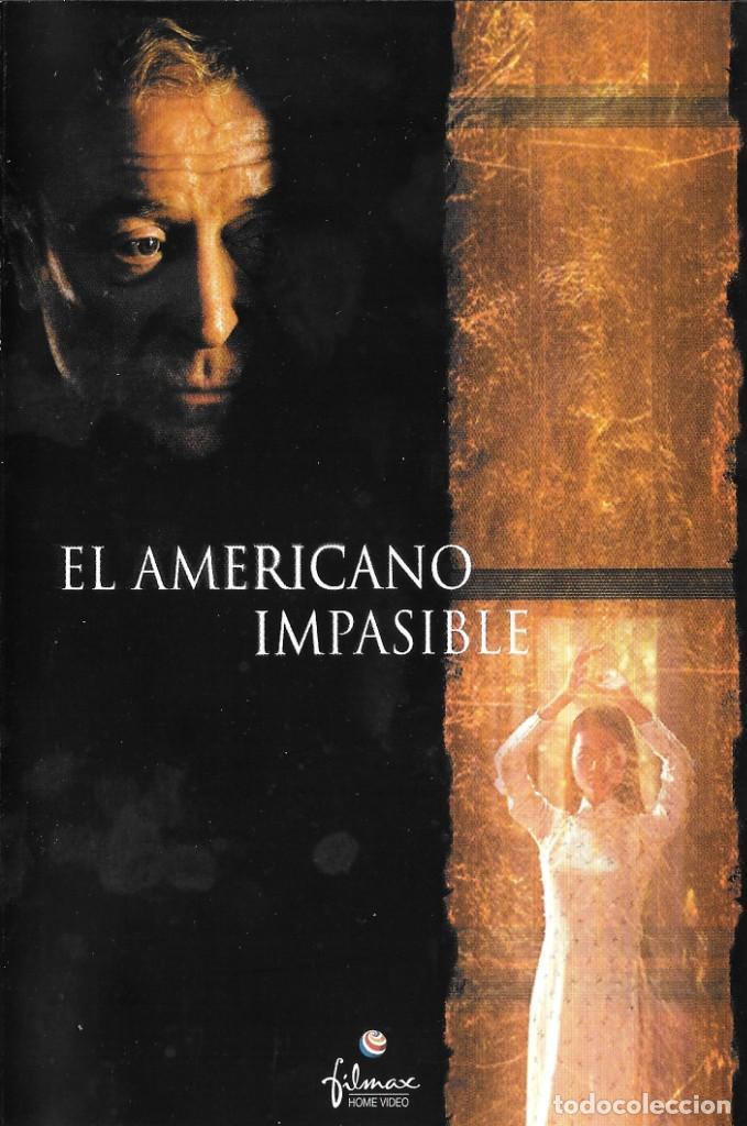 LIBRETO EL AMERICANO IMPASIBLE - PHILLIP NOYCE (Cine - Varios)