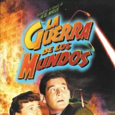 Cine: LIBRETO LA GUERRA DE LOS MUNDOS - BYRON HASKIN. Lote 222071242