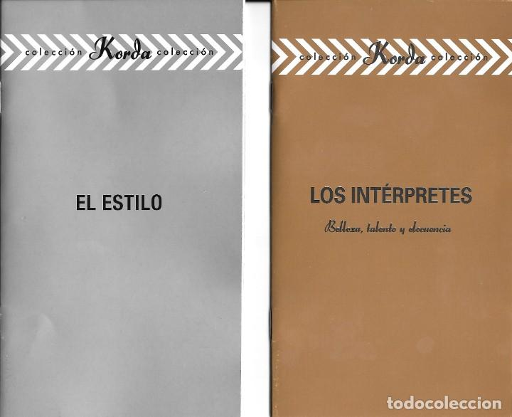 2 LIBRETOS DE PELÍCULAS DE LOS KORDA (Cine - Varios)
