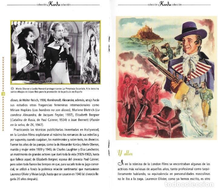 Cine: 2 LIBRETOS DE PELÍCULAS DE LOS KORDA - Foto 3 - 222071447