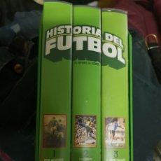 Cine: VHS LA HISTORIA DEL FUTBOL. Lote 222072516