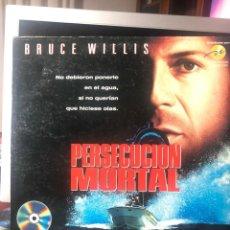 Cine: PERSECUCIÓN MORTAL - LASER DISC. Lote 222324680