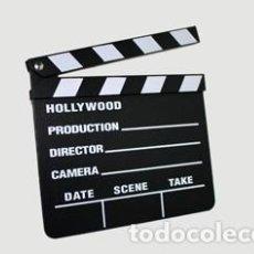 Cine: CLAQUETA DE PIZARRA Y MADERA-NUEVA. Lote 222328577