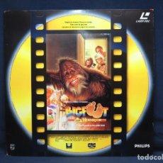 Cinema: BIGFOOT Y LOS HENDERSON - LASER DISC. Lote 222487855