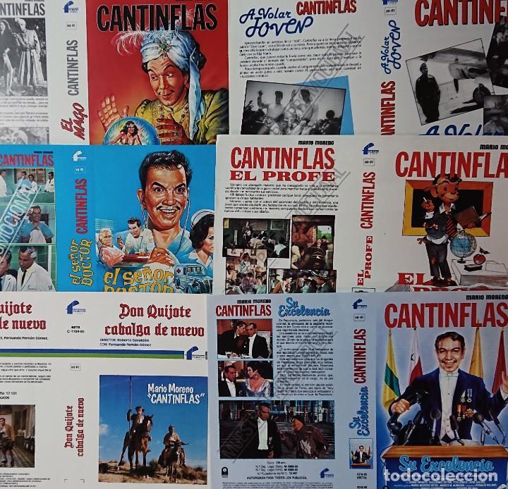 Cine: Colección de 26 carátulas de CANTINFLAS Mario Moreno - Foto 2 - 223344066