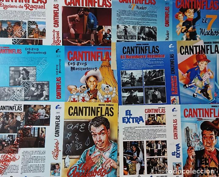 Cine: Colección de 26 carátulas de CANTINFLAS Mario Moreno - Foto 3 - 223344066