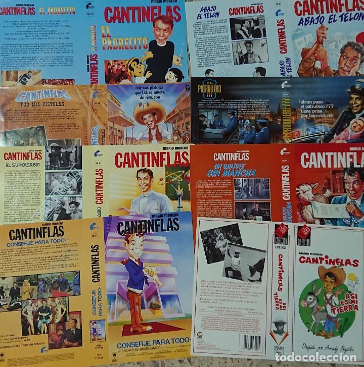 Cine: Colección de 26 carátulas de CANTINFLAS Mario Moreno - Foto 4 - 223344066