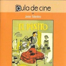 Cine: LIBRETO EL PISITO - MARCO FERRERI E ISIDORO M. FERRY. Lote 224705296