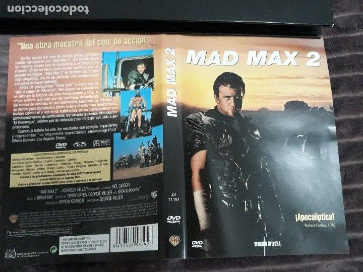 CARATULA DVD DE MAD MAX 2 (Cine - Varios)