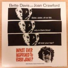 Cinema: WHAT EVER HAPPENED TO BABY JANE? (QUÉ FUEDE BABY JANE?) LASERDISC USA NTSC ALDRICH, DAVIS, CRAWFORD. Lote 227214125