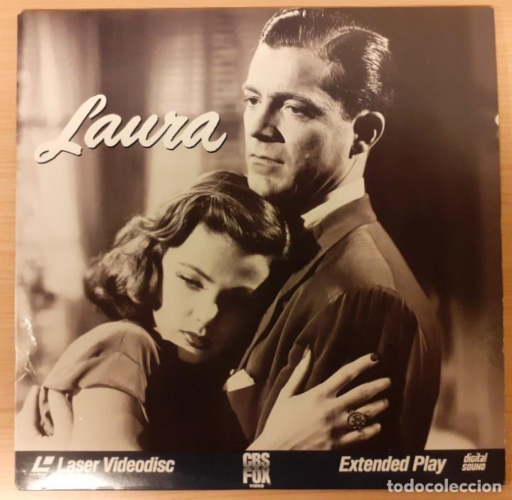 LAURA (1944) LASERDISC USA NTSC OTTO PREMINGER, GENE TIERNEY, DANA ANDREWS (Cine - Varios)