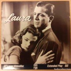 Cinema: LAURA (1944) LASERDISC USA NTSC OTTO PREMINGER, GENE TIERNEY, DANA ANDREWS. Lote 227214895