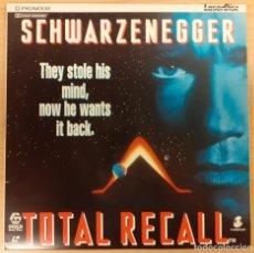 Cinema: TOTAL RECALL (DESAFÍO TOTAL) LASERDISC UK PAL PAUL VERHOEVEN, SCHARZENEGGER. Lote 227220375
