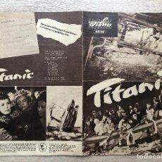 Cine: TITANIC. Lote 227482975