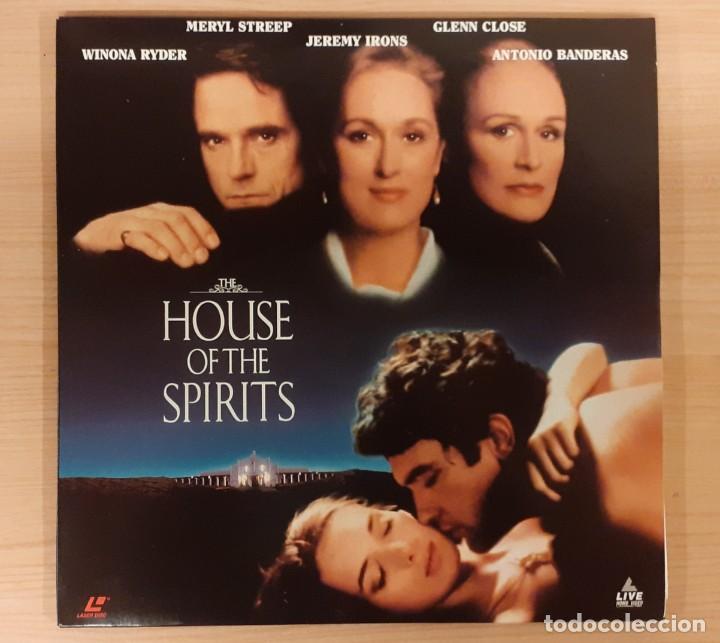 THE HOUSE OF THE SPIRITS (LA CASA DE LOS ESPÍRITUS) LASERDISC USA NTSC JEREMY IRONS, MERYL STREEP (Cine - Varios)