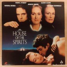 Cinéma: THE HOUSE OF THE SPIRITS (LA CASA DE LOS ESPÍRITUS) LASERDISC USA NTSC JEREMY IRONS, MERYL STREEP. Lote 227950375