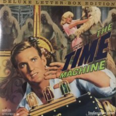 Cine: LASERDISC LA MAQUINA DEL TIEMPO V.O. ROD TAYLOR ALAN YOUNG YVETTE MIMIEUX NTSC 1960 LASER DISC LD. Lote 228495040