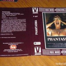 Cinéma: PHANTASMA - SOLO CARATULA DE VIDEO ORIGINAL. Lote 228889718