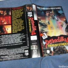 Cinéma: PESADILLA EN ELM STREET 4- CARATULA VHS. Lote 229867465
