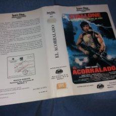 Cinema: EL ACORRALADO- CARATULA VHS 1 EDICION. Lote 229898495