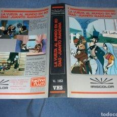 Cinema: LA VUELTA AL MUNDO EN 80 DIAS JUANITO MANZANA- - CARATULA VHS. Lote 229900475
