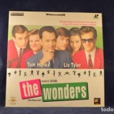 Cinema: THE WONDERS - LASER DISC. Lote 230009045