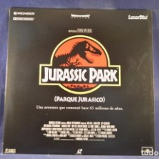 Cinema: JURASSIC PARK - LASER DISC. Lote 230011235