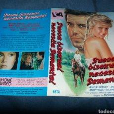 Cinema: SUECA BIXESUAL NECESITA SEMENTAL- CARATULA BETA. Lote 230988000