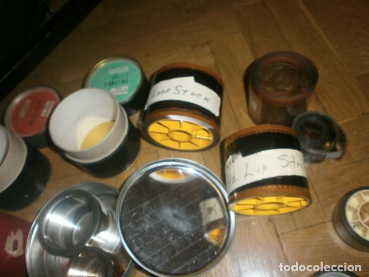 Cine: Cine lote coleccionistas decoración latas, peliculas, cajas de cartón, Neocinar, Rochester, Censura - Foto 9 - 233458255