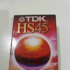 Cine: TDK HS45 - VHS C - CINTA VIDEOCAMARA -PRECINTADA-1869.. Lote 235365610