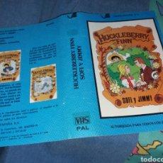 Cinema: CARATULA VHS- HUCKLEBERRY FINN. Lote 235441180