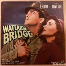 Cinema: WATERLOO BRIDGE (EL PUENTE DE WATERLOO) LASERDISC USA NTSC VIVIEN LEIGH, ROBERT TAYLOR. Lote 235809875