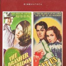 Cine: LIBRETO EL DOBLÓN BRASHER / ¡DEJADNOS VIVIR! - JOHN BRAHM. Lote 237207510