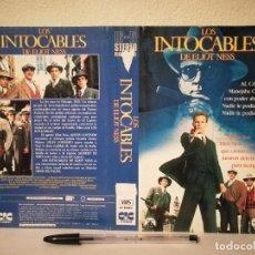 Cine: CARATULA ORIGINAL -A4- LOS INTOCABLES DE ELIOT NESS - KEVIN COSTNER - SEAN CONNERY. Lote 237210660