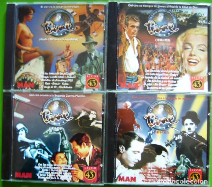 LA GRAN ENCICLOPEDIA DEL CINE - EN 4 CD-ROM (CON PISTAS DE AUDIO) (Cine - Varios)
